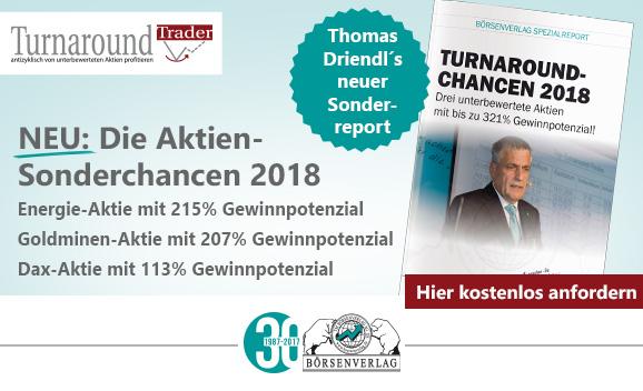 Neu: Die Aktien-Sonderchancen 2018